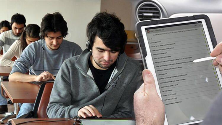 Ehliyet ve kurs sınavları ne zaman başlayacak? Hafta sonu sınavları hakkında açıklama!