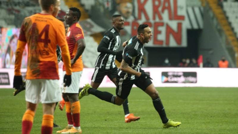 Galatasaray ağır yaralı Derbide kazanan Beşiktaş