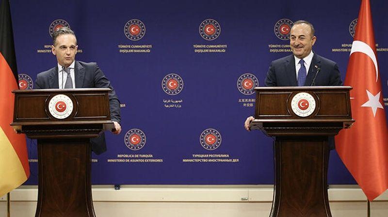 Dışişleri Bakanı Mevlüt Çavuşoğlu ve Almanya Dışişleri Bakanı Basın Toplantısı