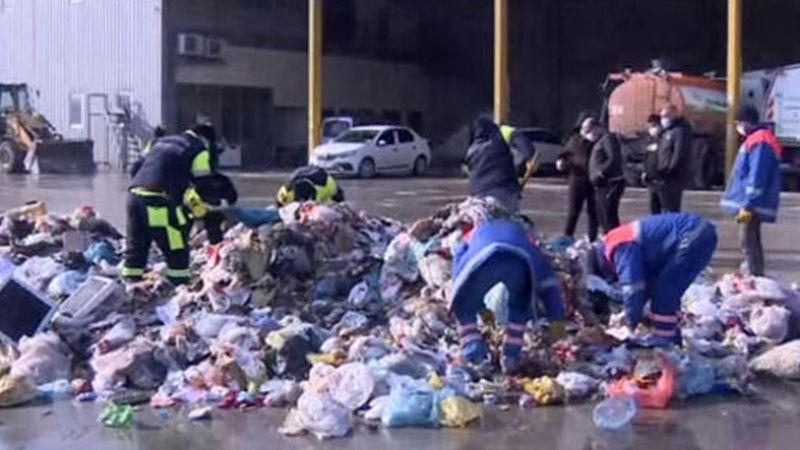İstanbul Bahçelievler Yanlışlıkla Çöpe Atılan Altınlar