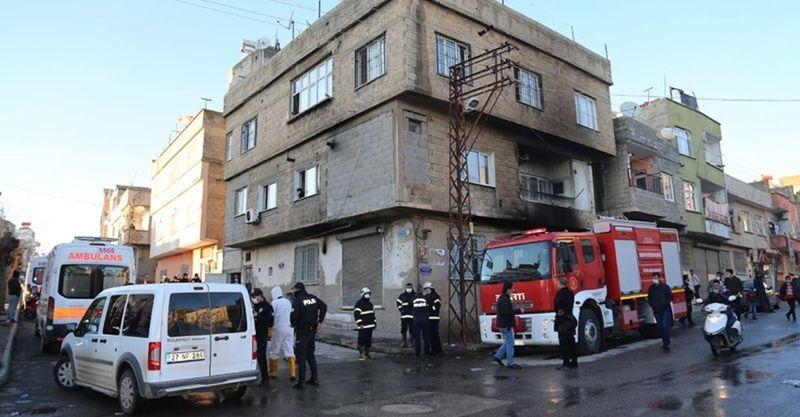 Gaziantep'te çıkan yangında 2 çocuk feci şekilde yanarak can verdi