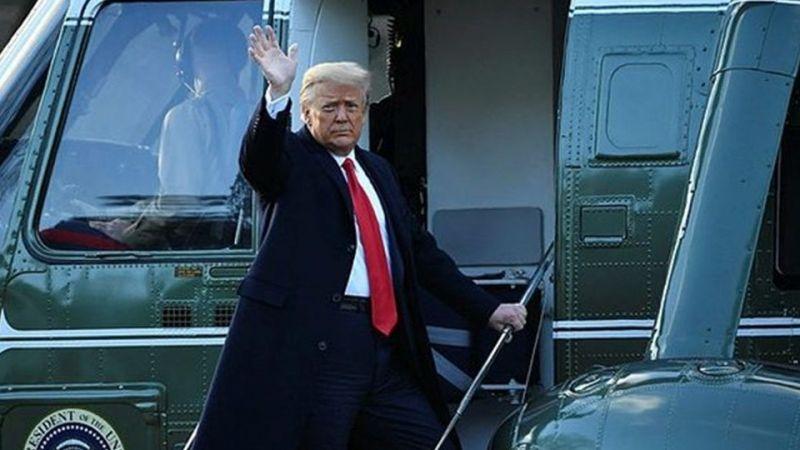 Donald Trump Beyaz Saray'dan Ayrıldı