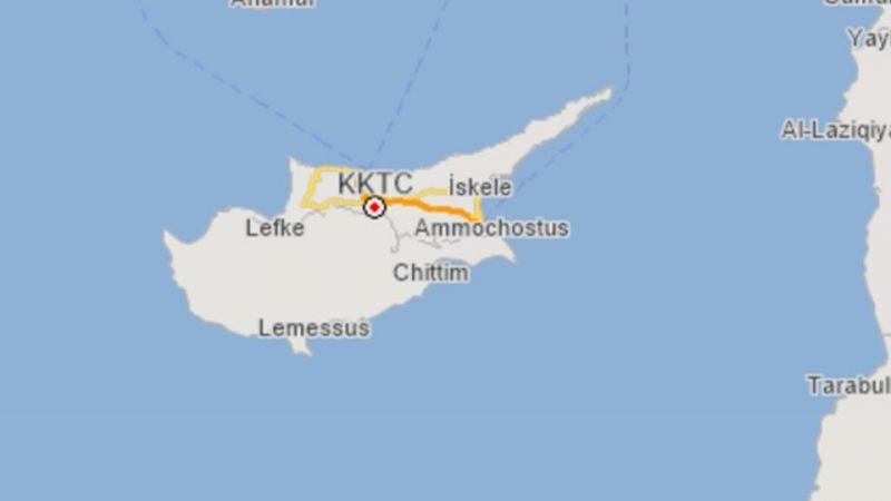 Kuzey Kıbrıs Türk Cumhuriyeti Deprem