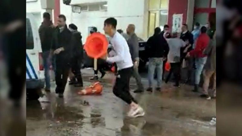 Bursa Çekirge Devlet Hastanesi Güvenlik Görevlilerine Saldırı