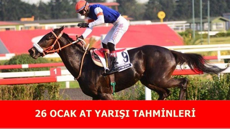 26 Ocak 2021 at yarışı tahminleri! Adana ve Kocaeli 26 Ocak Salı altılı tahminleri ve bültenleri