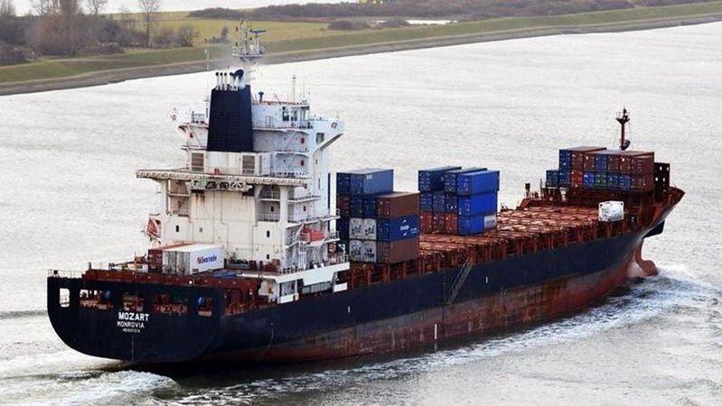 Girne'de Kaçırılan Türk Gemisi