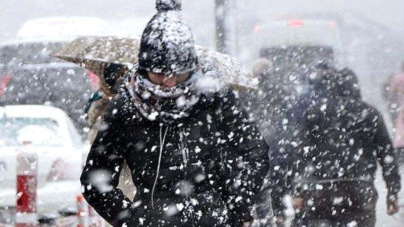 Hava sıcaklıkları düşüyor! Kar yağışı için geri sayım başladı!