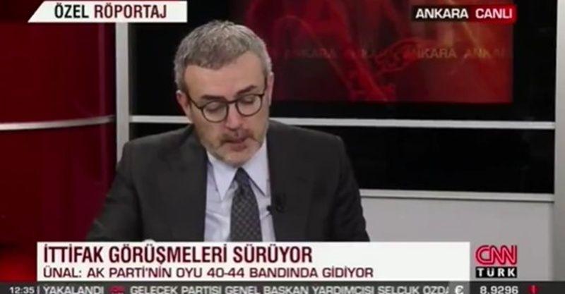 Mahir Ünal son anket sonuçlarını canlı yayında açıkladı! İşte Erdoğan'ın oy oranı