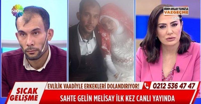 Didem Arslan Yılmaz'la Vazgeçme 9 Şubat 2021 sahte gelin Melisay Tosun son durum