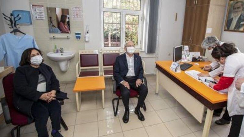CHP Genel Başkanı Kemal Kılıçdaroğlu Koronavirüs Aşısı Oldu