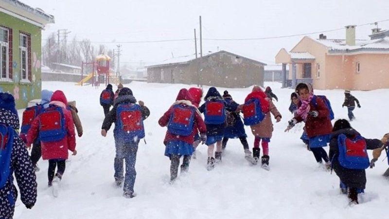 Okullara Kar Engeli! Kar Tatili Olan İller Açıklandı