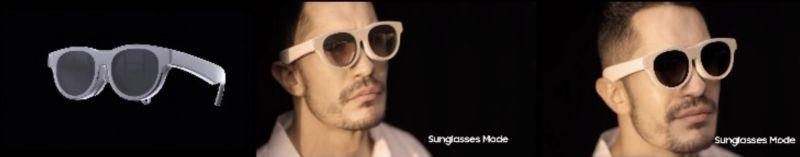 Samsung Glasses Lite Güneş Gözlüğü Modu
