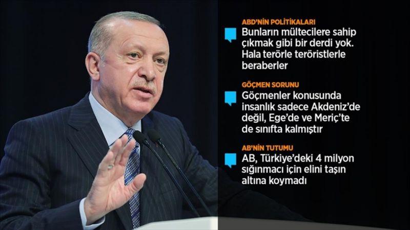 Haberler: Cumhurbaşkanı Erdoğan GÖÇ konferansı