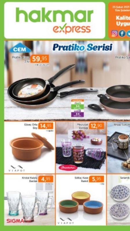 Hakmar Express 25 Şubat aktüel ürünler kataloğu! Hakmar 23 Şubat – 3 Mart indirimleri