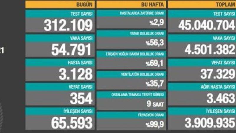 Türkiye Güncel Koronavirüs Tablosu' Vakalarda Son Durum Ne?