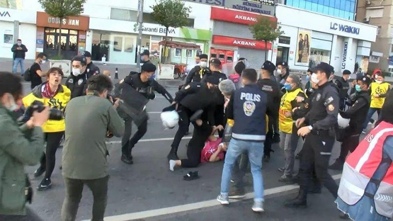 1 Mayıs nedeniyle Taksim'e yürümek isteyen gruplar gözaltına alındı!