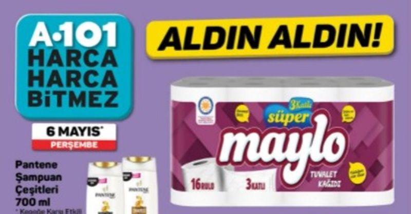 6 Mayıs A101 kataloğu aktüel ürünler indirimleri! Bu hafta A101'de bayram indirimleri başlıyor