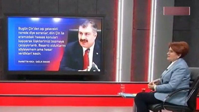 İYİ Parti Genel Başkanı Akşener'den Bakan Koca'ya Sert Sözler