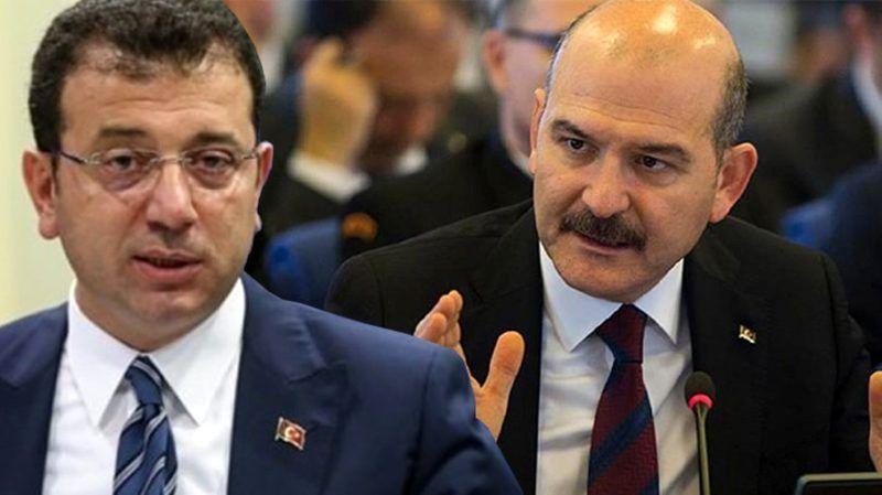 Soylu'dan İmamoğlu'na soruşturma izni vermem açıklaması!