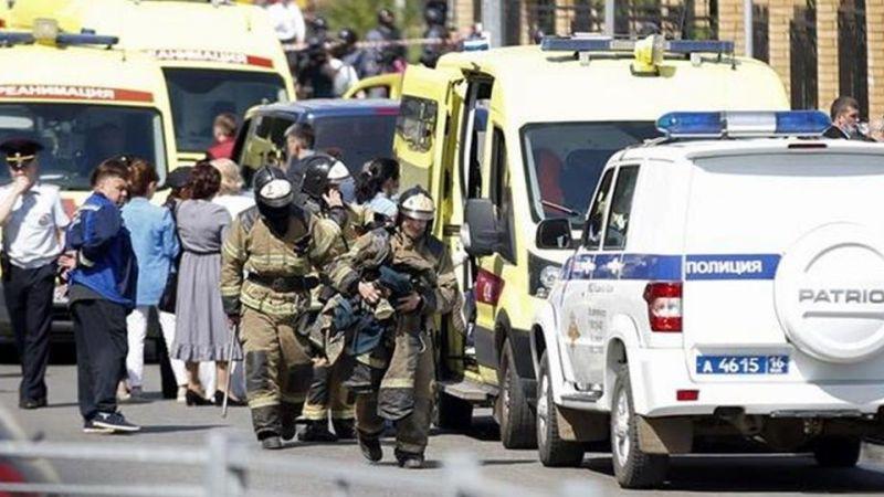 Rusya'da Bir Okula Kanlı Saldırı