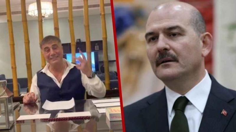 """Süleyman Soylu'dan Sedat Peker'e! """"Kökünü kazıyacağız"""""""