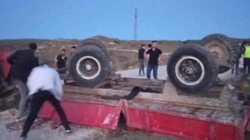 Ankara'da Traktör Römorkunun Devrildiği Kazada 4 Kişi Hayatını Kaybetti