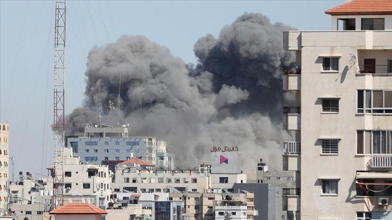 İsrail, basın binasını havaya uçurdu