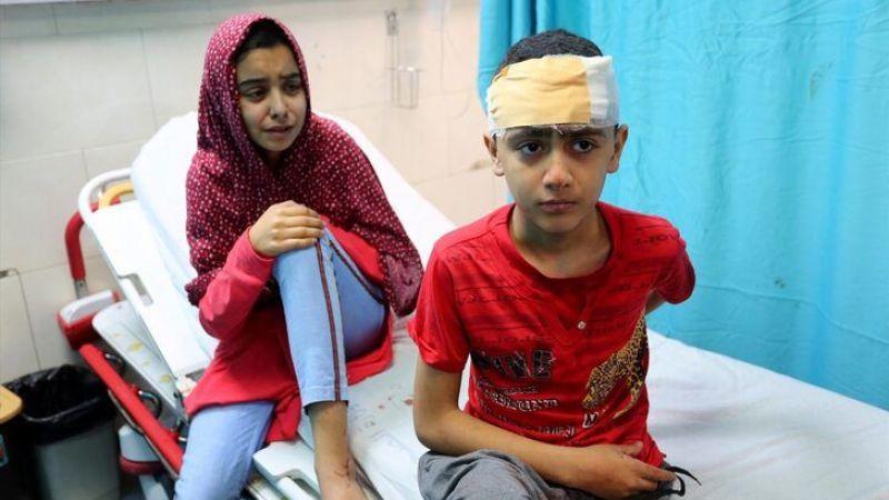 Gazze'de son durum! Şati Mülteci Kampı'na hava saldırısı!
