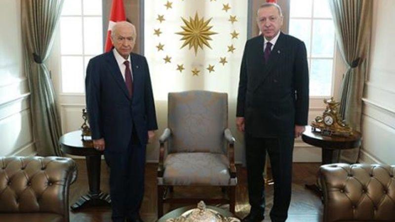 Erdoğan ve Bahçeli görüşmesi! Erdoğan ve Bahçeli neden görüştü?