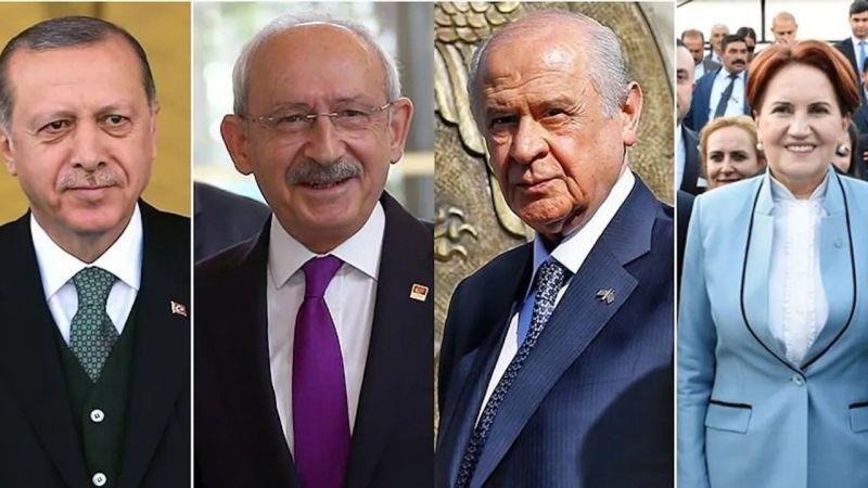 Son seçim anketi yayımlandı! Türkiye'nin en çok sevdiği liderler