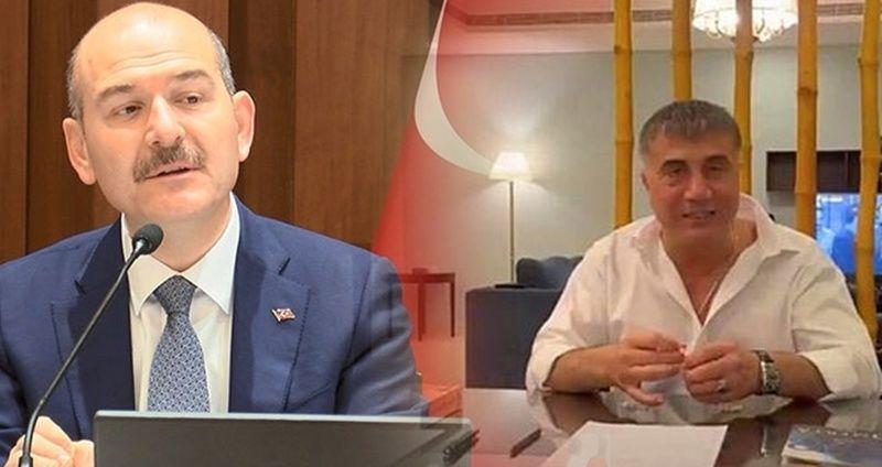 Bakan Süleyman Soylu'dan Sedat Peker Açıklamaları