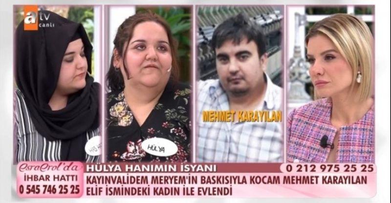 Esra Erol'da Hülya Kantar Karayılan Mehmet Karayılan olayı ne? Canlı yayında neler söylendi neler?