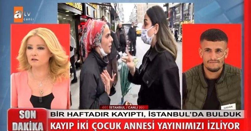 Müge Anlı'nın ekibine saldırı! 7 gündür aranan kadın muhabir ve kameramana saldırdı