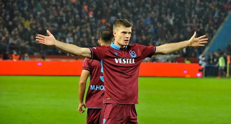 Sörloth'tan Trabzonspor taraftarına şok tepki