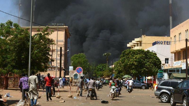 Burkina Faso'da terör katliamı