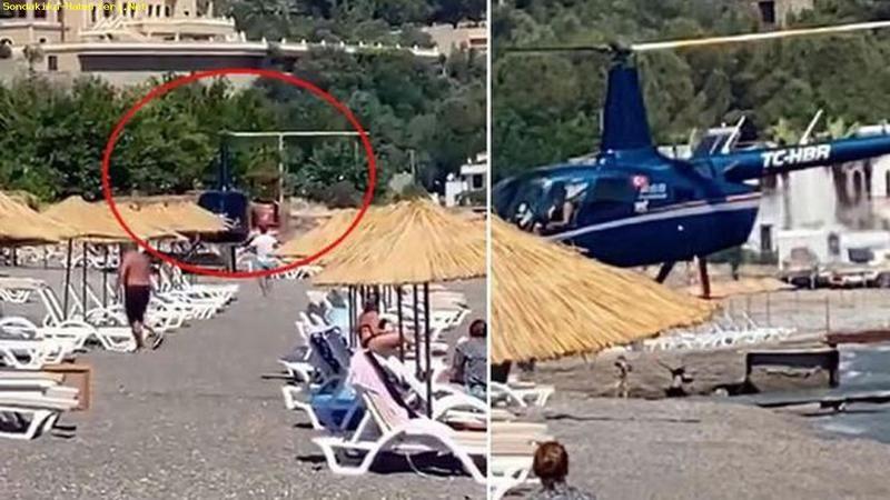 """Pilaja inen helikopter pilotundan açıklama! """"Biz havacılık aşığı bir aileyiz"""""""