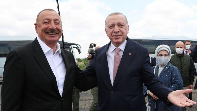 Cumhurbaşkanı Erdoğan Azerbaycan Meclisi'nde konuşma yaptı
