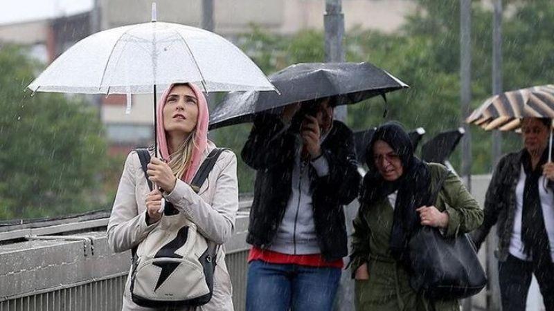 Meteoroloji'den yağmur uyarısı! 19 ilde sağanak yağış