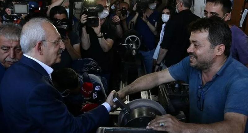 Kılıçdaroğlu: Emekçinin elini sıkmaktan şeref duyarım