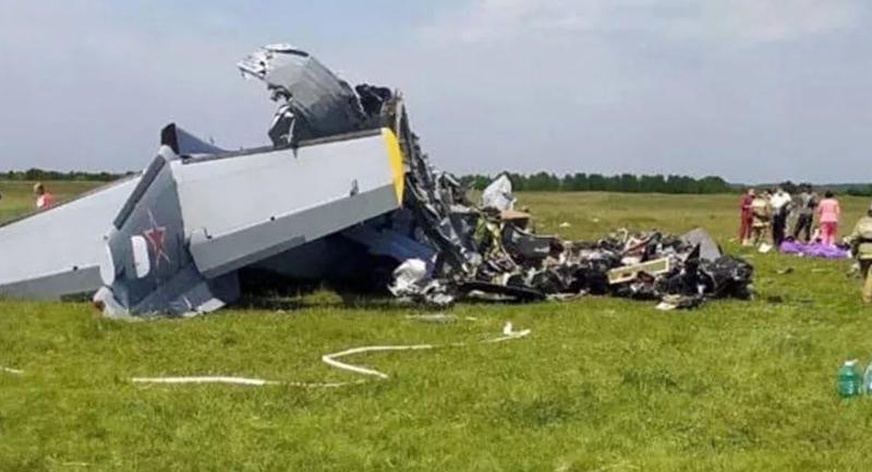 Rusya'da uçak düştü: 4 ölü, 16 yaralı