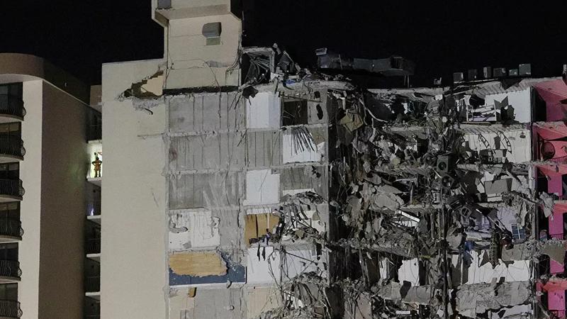 ABD'de 12 katlı bina çöktü!