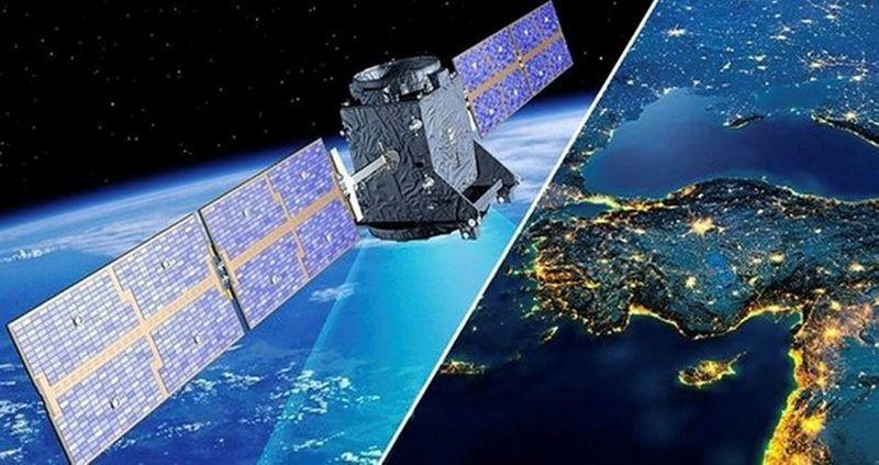 Türksat 5A  uydusu hizmete başladı! Tüksat 5A ilk görüntüsü