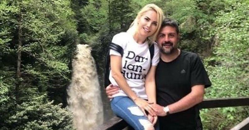 Yasak aşkları gündemi çalkalayan Ece Erken ve Şafak Mahmutyazıcıoğlu evlendi