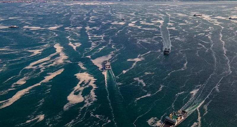Marmara'da deniz sıcaklığı da artıyor