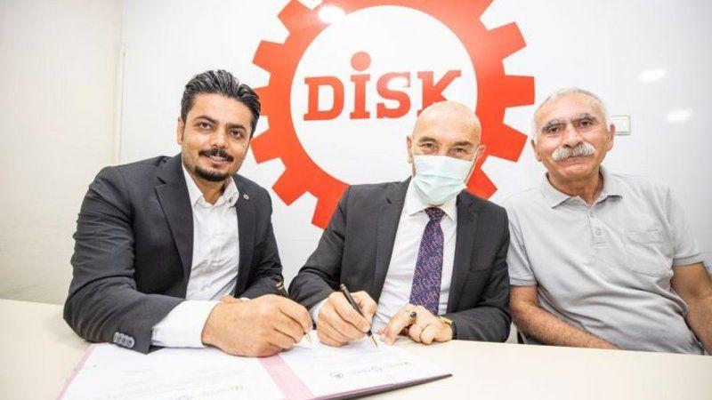 İzmir'de imzalar işçiler için atıldı, en düşük maaş 7 bin TL