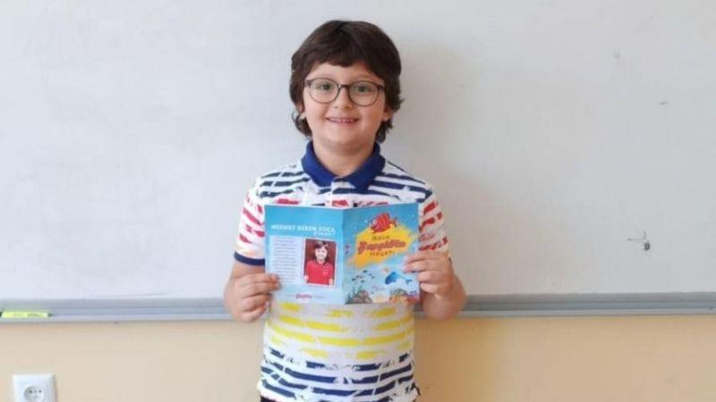 Henüz 6 yaşında, hikaye kitabı yazdı
