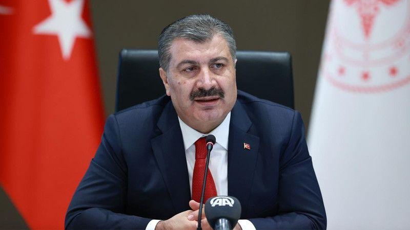 Sağlk Bakanı Koca'dan açıklama! Vaka sayılarında azalış sürüyor