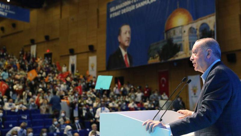 Erdoğan: 2023 seçimlerine doğru bizi ağır imtihanlar bekliyor