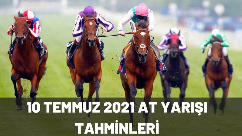 TJK 10 Temmuz 2021 Ankara İzmir at yarışı tahminleri! 10 Temmuz at yarışı banko kupon, hazır tahminler