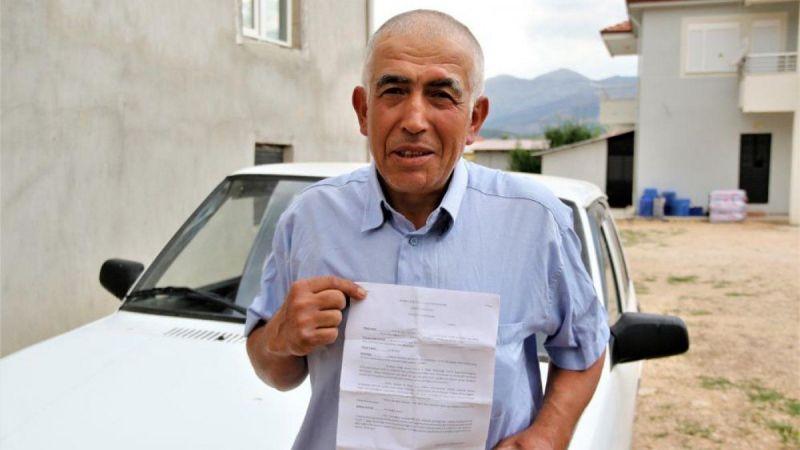 İstanbul'a hiç gitmedi, 20 kez trafik cezası yedi